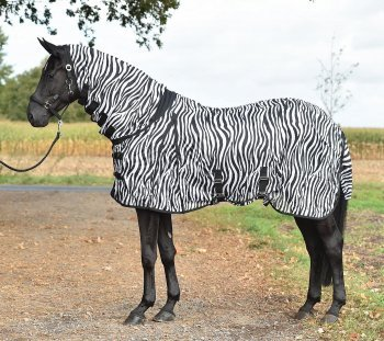 Busse Paddock-Fliegendecke Comfort Zebra, 145, Zebra