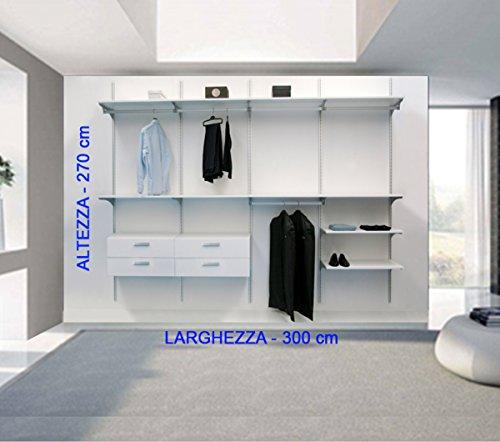 Cabina armario de calidad tipo vestidor