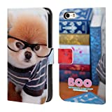 Best Cutest I Phone 5 Cases - Official Boo-The World's Cutest Dog Nerdy Sunglasses Leather Review