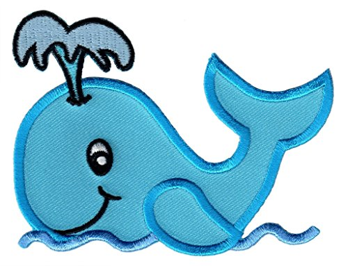 PatchMommy Toppa Balena Toppa Patch Termoadesiva -Toppe Bambini