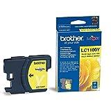 Brother LC1100Y - Cartucho de tinta amarillo (duración estimada: hasta 325 páginas según ISO/IEC 24711)