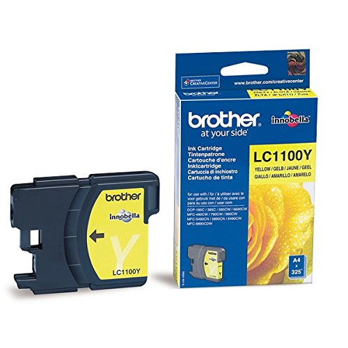 Brother LC-1100Y Tintenpatronen gelb