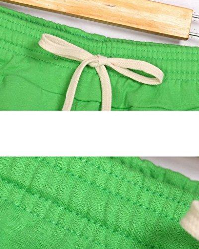 EOZY Damen Shorts Hotpants Badeshorts Schwarz