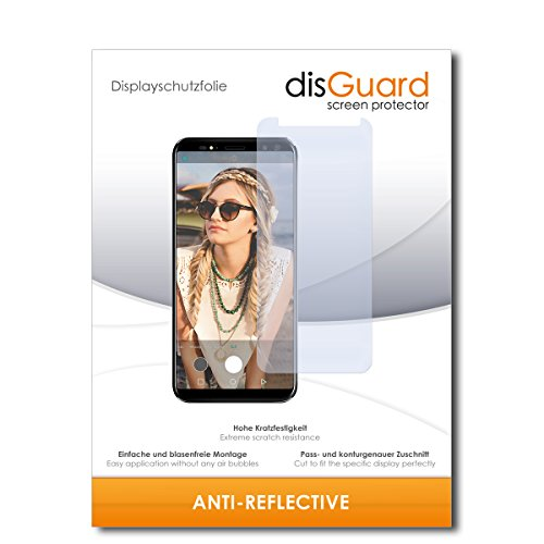 disGuard® Displayschutzfolie [Anti-Reflex] kompatibel mit M-Horse Pure 3 [2 Stück] Entspiegelnd, Matt, Antireflektierend, Extrem Kratzfest, Anti-Fingerabdruck - Panzerglas Folie, Schutzfolie