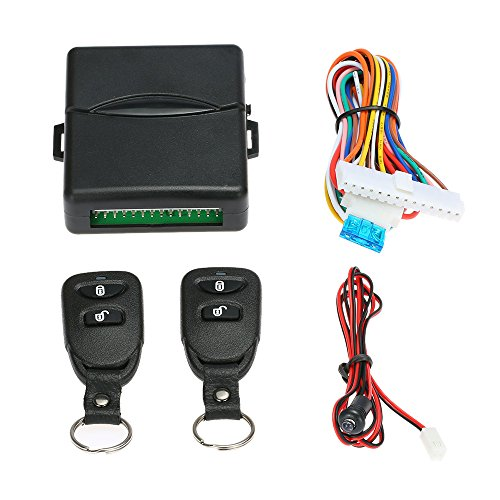 KKmoon Car Door Lock Keyless Entry System Fernbedienung Central Control Box Kit Universal