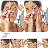 Vency Painless Slique Eyebrow Face and Body Hair Threading and Removal System
