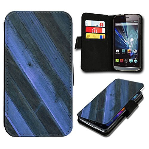 Book Style Sony Xperia E3 Premium PU-Leder Tasche Flip Brieftasche Handy Hülle mit Kartenfächer für Sony Xperia E3 - Design Flip SB39