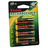 Kodak - Pile rechargeable Ni-MH - LR6 -1700 mAh - Par 4