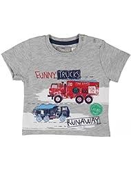 Boboli Camiseta Punto Liso Para Bebé Niño