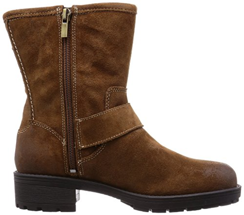 Clarks - Reunite Go Gtx, Stivali Donna Marrone (Mid Brown Sde)