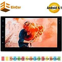 Última Android 8.1 estéreo Octa Core 2 GB de RAM del coche de 7 pulgadas de pantalla táctil de doble Din GPS Autoradio Entretenimiento Sistema de Apoyo WiFi Bluetooth Radio AM / FM OBD2 Fast-boot / 4G / 3G WIFI / Espejo Enlace / SWC SD / USB / DVR