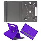 DMP Designer 360 Degree Rotating Leather Flip Case Book Cover With Stand For Samsung Galaxy Tab 3 Neo – Dark Blue
