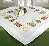 Stickpackung Tischdecke Mitteldecke Weihnachtsgeschenke