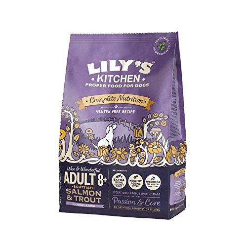 Lily da cucina per adulti 8+ scozzese salmone & trota senza glutine cibo secco per cani (7kg)