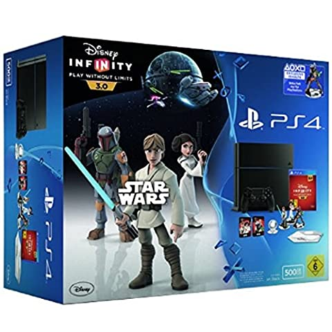 SONY PS4 BLANCHE DISNEY INFINITY 3.0 STAR WARS PACK NEUF Limitée Collector711719800941