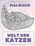 Welt der Katzen - Malbuch