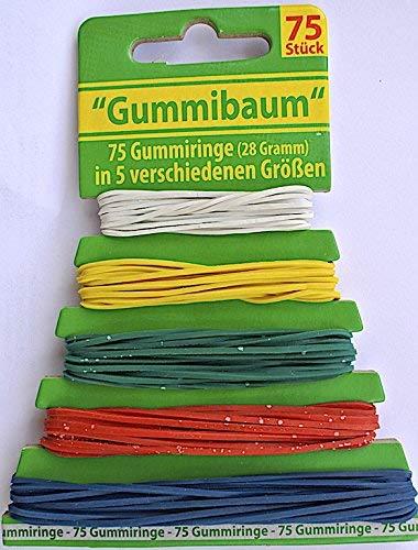 na-und Gummibaum 75 Gummiringe 550-100mm ø Haushaltsgummi