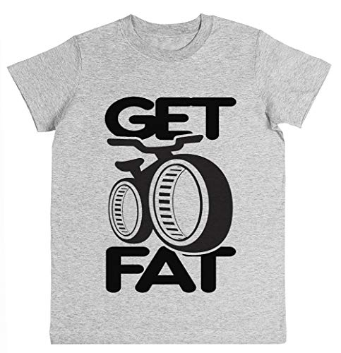 Get Fat! Unisex Kinder Jungen Mädchen T-Shirt