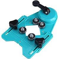 Yosoo 4mm-80mm Guide d'Assemblage Gabarit de Perçage Localisateur d'Ouvertures pour Marbre Céramique Verre