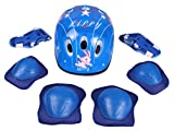 #9: Strauss 4 in 1 Protective Kit Junior, 7 Pcs (Blue)