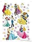 AG Design Wand Sticker DK 1774 Disney Princess Prinzessin