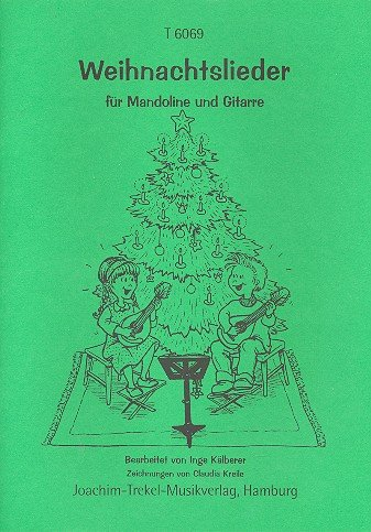 Weihnachtslieder: für Mandoline und Gitarre
