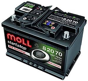 Moll start stop EFB 8207012V 70Ah