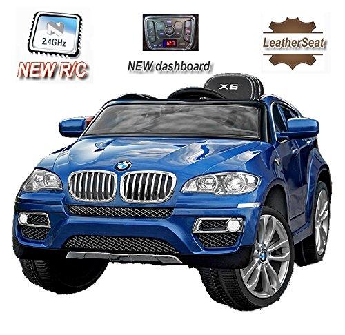 bmw-x6-original-licenza-blu-laccato-luxury-2x-motore-radio-fm-sd-card-12-v-della-batteria-con-24-ghz