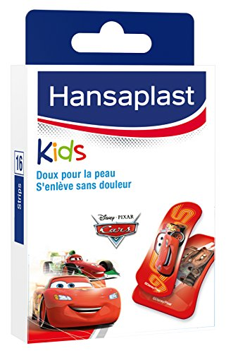 Hansaplast Set de 16 Pansements Cars Disney