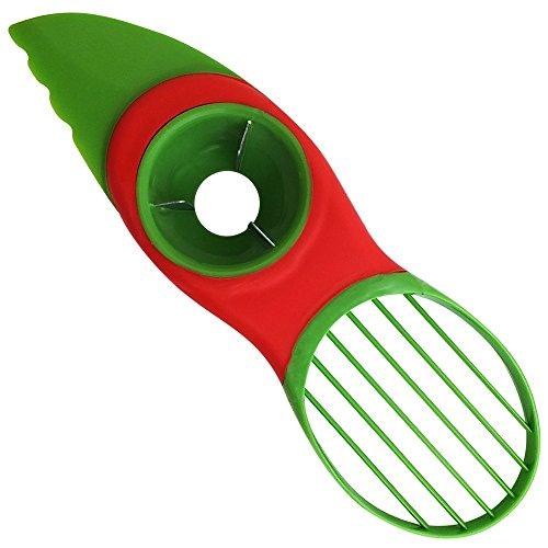 Latest 3-IN-1 Avocado Slicer Wit...
