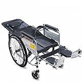 T-Rollstühle Rollstuhl, Alter Roller, Volle Lage, Pflegetyp, Dickes Stahlrohr