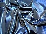 Uni Taft Kleid Stoff, Marineblau, Meterware + Frei Minerva