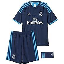 ADIDAS MINI ME REAL MADRID Set Kinder Trainingsanzug Kurzarm