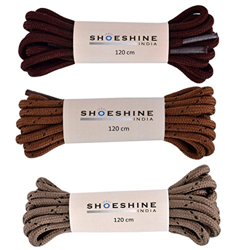 Round 120cm Bootlace Shoe Lace for Woodland Red Chief type shoes  available at amazon for Rs.159