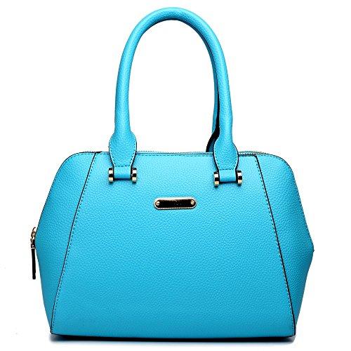 Miss Lulu - Sacchetto donna Light Blue