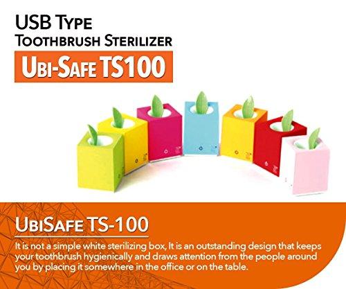 Preisvergleich Produktbild Ultraviolet UV Zahnb_rste Tragbare Antibakterielle Sterilisator Ultra Light einzigen Pinsel stehenden Kasten TS100