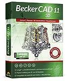 Becker CAD 11 3D für Windows 10 8 7 | Cad-Software für Architektur, Maschinenbau, Modellbau und Elektrotechnik | 3D CAD Programm kompatibel mit Autocad -