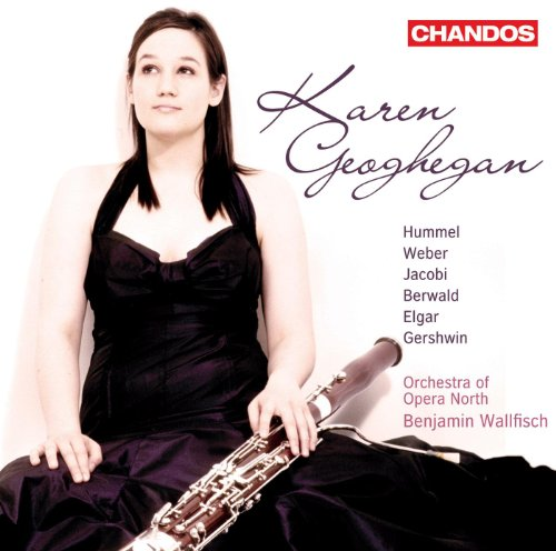 Bassoon Recital: Geoghegan, Karen - Hummel, J. / Weber, C. M. / Berwald, F. / Jacobi, C. / Elgar, E. / Gershwin, G.