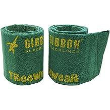 Gibbon TreeWear - Protector para árboles, 2 x 100 x 14.5 cm, color verde