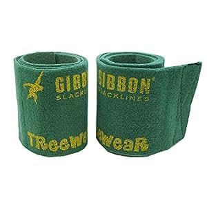 Gibbon Tree Wear Synthetic Felt Protection for Slack Lines - Green