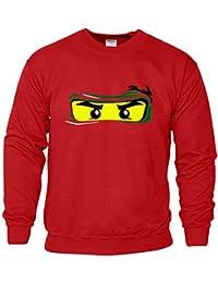 LEGO NINJAGO Mens Sweat drôle NINJA inspiré SweatShirtcadeau