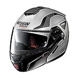 Nolan N90-2 Straton N-Com Helm L (60) Silber Matt