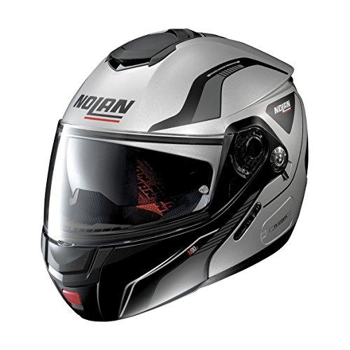 Preisvergleich Produktbild Modulare Helm NOLAN N90 _ 2 Straton N Fade Silver 16 XXS