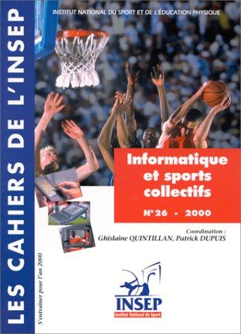 Cahier INSEP numéro 26 ; information et observation sports