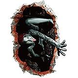 SEWORLD Happy Halloween Haushalt Zimmer Wand Aufkleber Wandbild Decal Removable Terror(A,45x60cm)