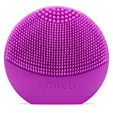 LUNA play de FOREO es el limpiador exfoliante facial, morado. Perfecto...