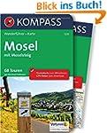 Mosel mit Moselsteig: Wanderführer mi...