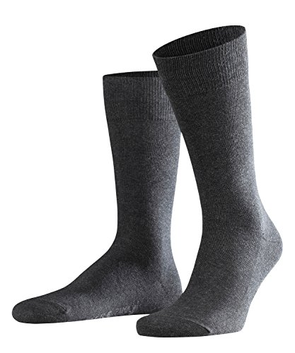 FALKE Herren Family M SO Casual Socken, Grau, 43-46 -