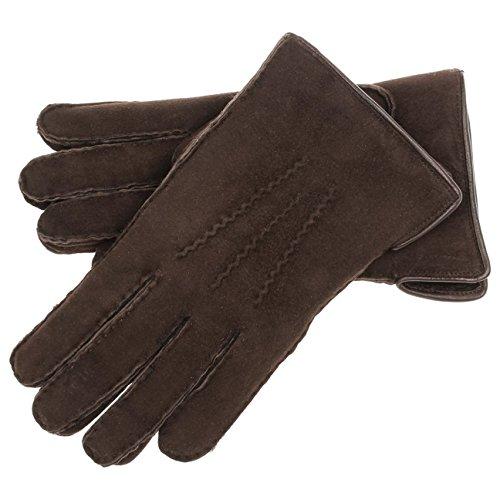Gants en Cuir George Lierys paire de gants pour homme paire de gants hiver Marron