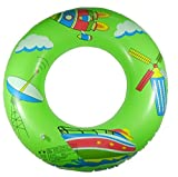 NOVICZ Teenagers and Adults Inflatable Floating Tube 90 cm Diameter Swimming Tube Pool